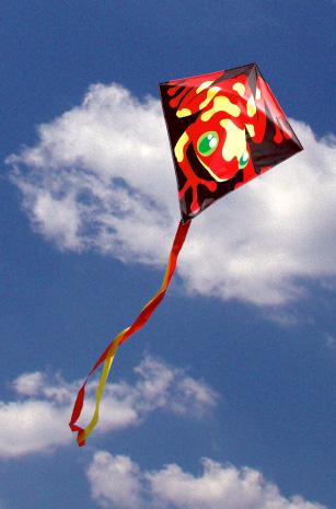 Diamonds (Sun Frog) - New Tech Kites